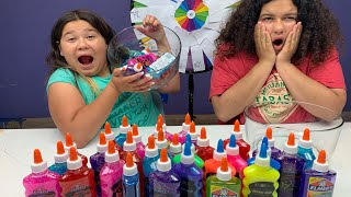 Don't get MAD SLIME Challenge!!! IS MARY MAD?