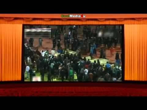 Football War Egypt Football Stadium Riot (Cairo) 74 People Dead Wednesday 1st February 2012