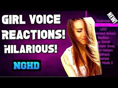 Black Ops 2 Girl Voice Impression/ Reactions! (Modded Radar Voice Reactions) Hilarious! #1