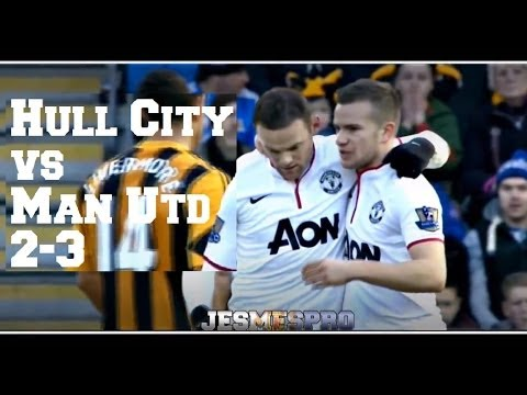 Hull City vs Manchester United 2-3 (HD)