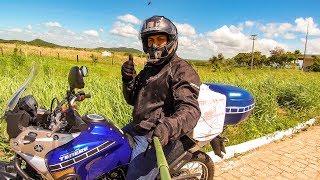 VIAGEM DE MOTO PELO NORDESTE | Sozinho na Estrada rumo ao Sertão