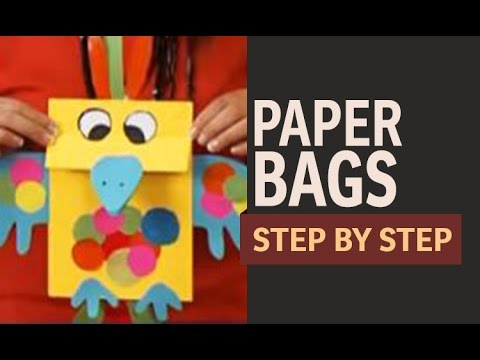 Make these adorable gift bags from scrapbook paper or any kind of paper. Easy to make with this step-by-step tutorial.