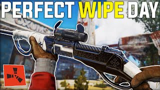 LUCKY WEAPON Find Gives The PERFECT START To Our BEST WIPE EVER! - Rust Gameplay Ep 1