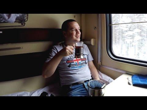 Поездка на поезде №067ы Абакан - Москва из Екатеринбурга в Пермь