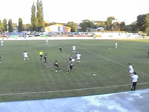 Голы в матче Торпедо - Машук-КМВ 28.08.2011