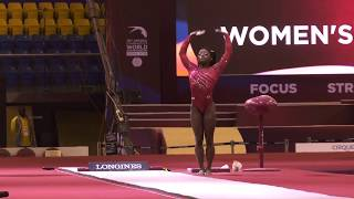 Simone Biles - Vault - 2018 World Championships - Women's Team Final