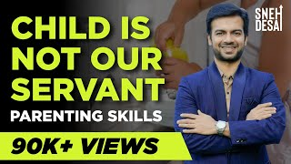 Parenting Seminar | Child is not our servant | Parenting Tips for Children in Hindi