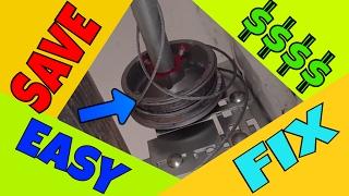 🆕 Garage Door Cable Off | EASY FIX!!
