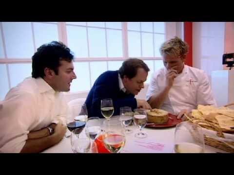 Gordon Eats Cheese Filled with Maggots - Gordon Ramsay