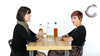 Roommates Play Truth or Drink