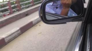 Kushyara Bridge Fenchuganj to Sylhet town, Bangladesh.