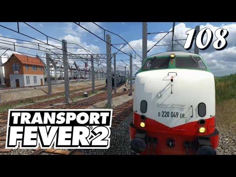 Transport Fever 2 S6/#108: Mit Kesselwagen nach Düsseldorf rein [Lets Play][German][Deutsch]