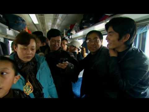 Millions in China travel ahead of holiday season