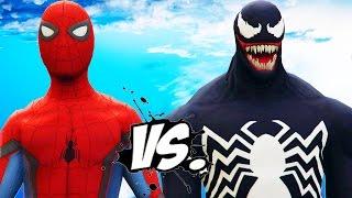 SPIDER-MAN VS VENOM - Spiderman Civil War vs Venom Symbiote