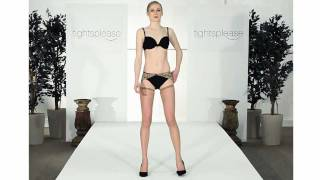 Tightsplease Charnos Boudoir Scantihose Tights on Catwalk