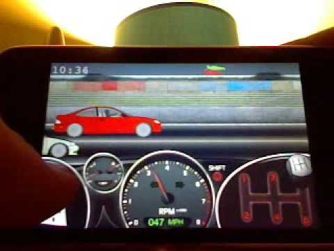 Drag Racer: Perfect Run App Review for the iPod Touch and iPhone