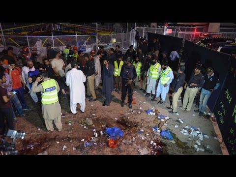 Pakistan terror attack: 65 dead after suicide bomber strikes children's play area in Lahore