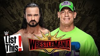5 dream WrestleMania opponents for John Cena: WWE List This!