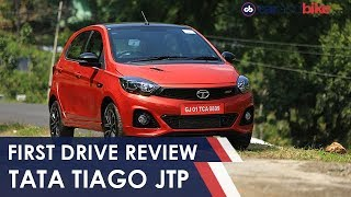 Tata Tiago JTP Review: India's Affordable Hot Hatch | NDTV carandbike