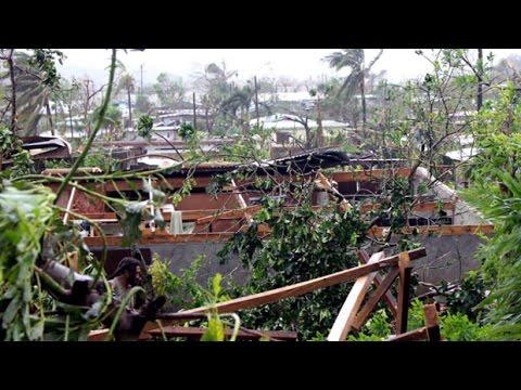 Dozens feared dead after Cyclone Pam rips through Vanuatu