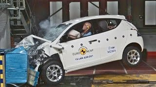 ► 2016 Lancia Ypsilon - CRASH TEST