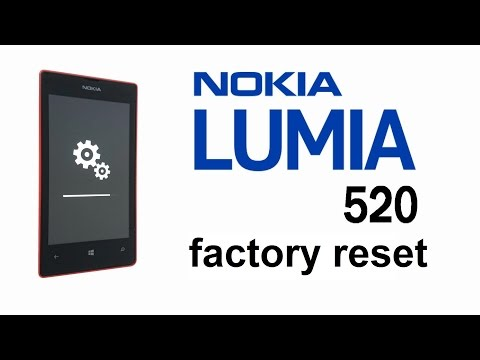 Nokia Lumia 520 521 Hard Reset. Factory / Master Reset. Screen Lock Removal
