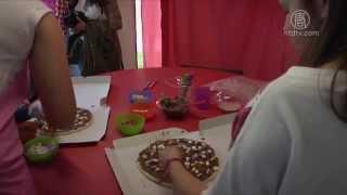 美丽又香甜 奥比都斯国际巧克力节