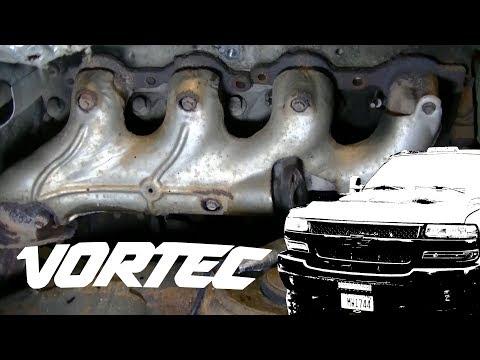 Silverado 2500HD Broken Exhaust Manifold Bolts Removal