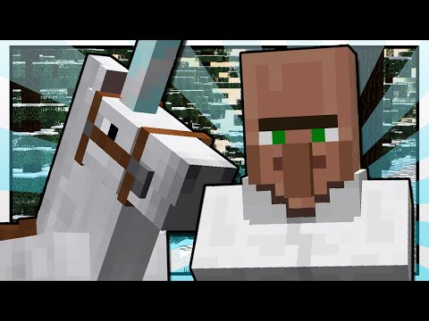TRAYAURUS AND THE UNICORN | Minecraft