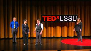Improv comedy will change the world | Jennifer Hunter | TEDxLSSU