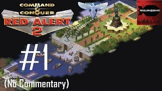 Command & Conquer: Red Alert 2 - Allied Campaign Playthrough Part 1 (No commentary, Mission 1)