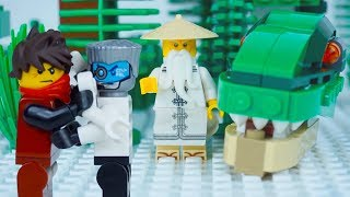 LEGO Ninjago STOP MOTION W/ Kai & Zane: The Dinosaur Shadow Prank | LEGO Ninjago | By LEGO Worlds
