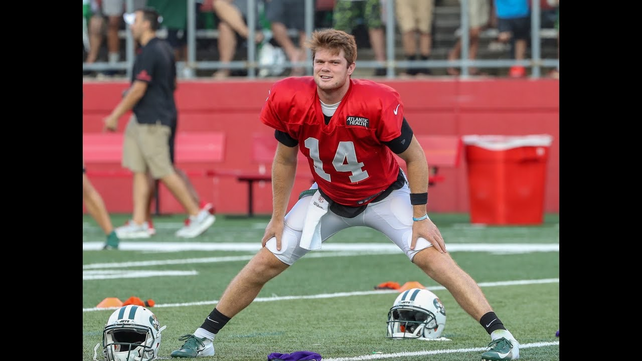 Jets' Sam Darnold's Day 12 training camp highlights