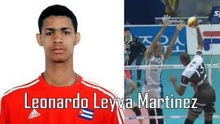 The Best Volleyball Players in the World - Leonardo Leyva Martinez