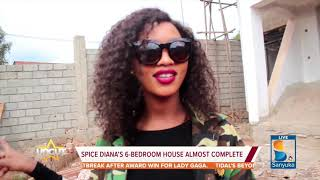 Uncut: Spice Diana`s 6 Bed Room House almost Complete