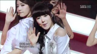 SNSD - Mr.Taxi (소녀시대-Mr.Taxi) @SBS Inkigayo 인기가요 20111218
