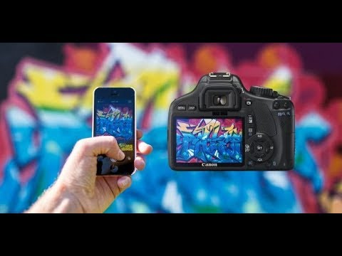Samsung Galaxy Note 8 vs dslr-quality 4K
