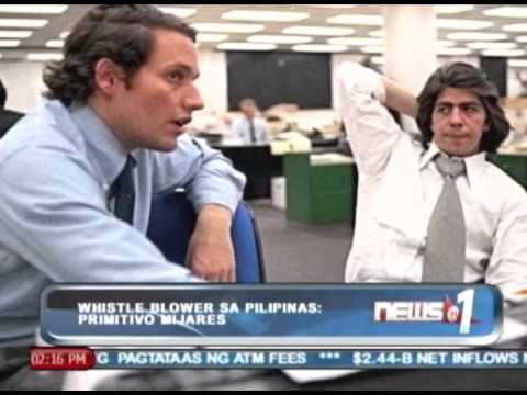 [News@1] Xiao Time: Whistleblower sa Pilipinas: PRIMITIVO MIJARES