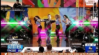 Luis Fonsi Performs 34 Calypso 34 Live On Gma