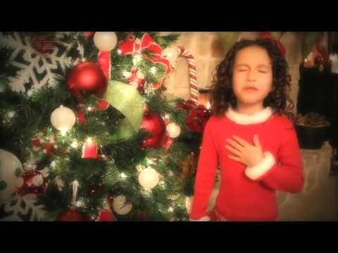 All I Want For Christmas Is You - 7 Yr Old Rhema Marvanne..truly Amazing - Plz share video