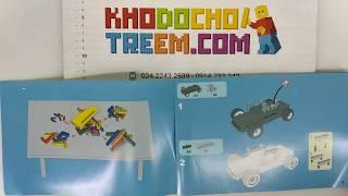 Hướng dẫn lắp ráp Qihui 8009 Lego Technic MOC Shadow Saber 2 in 1 giá sốc rẻ nhất