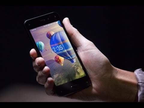 Amazon CEO Bezos Introduces Smartphone