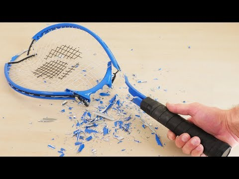 Incredible  - Gallium Vs Aluminium Tennis Racket