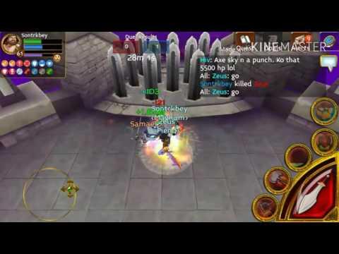Arcane Legends Sontrkbey VS Zeus macro cheater