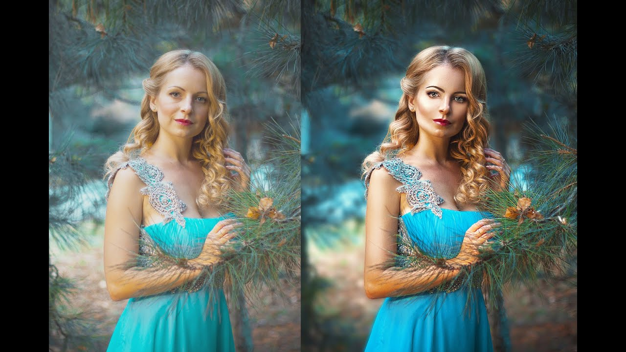 Как сделать обработанные фото