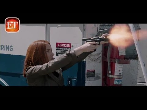 Captain America The Winter Soldier Black Widow Featurette [HD] 2014 -Chris Evans,Samuel L.Jackson-