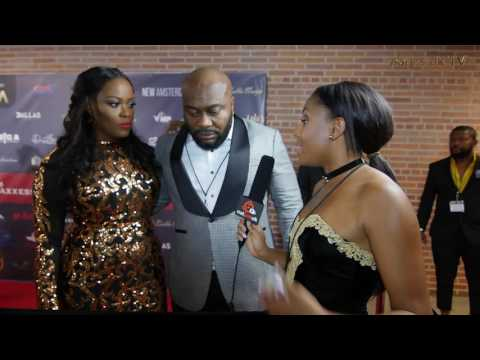 Big A Entertainment on The Red Carpet | Afrimma 2016 | Notjustok TV