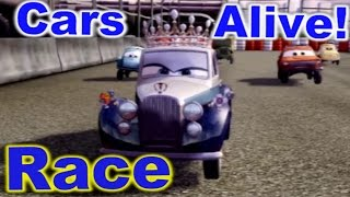 Cars 2: The video Game - The Queen - Race on Runway Tour