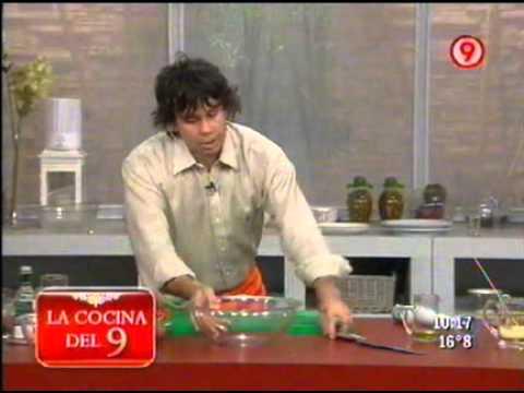 Brochete de carne con ensalada de vegetales asados 3 de for Cocina 9 ariel rodriguez palacios facebook