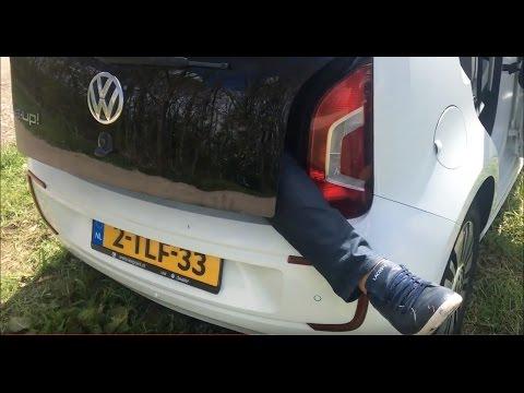 Тестируем Электрический Volkswagen UP